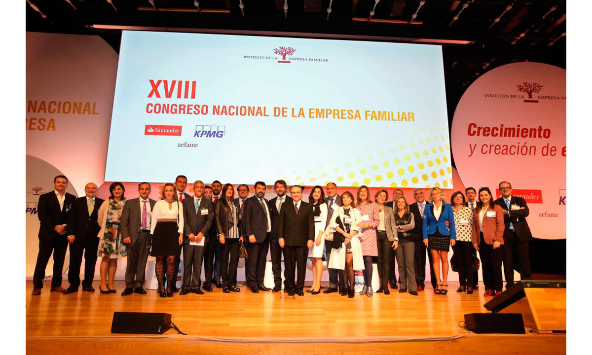 Grupo Tirso, Empresa familiar, congreso IE 2015