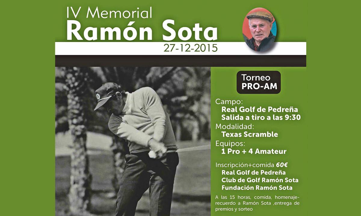 Grupo Tirso, Ramón Sota, Golf, Pedreña