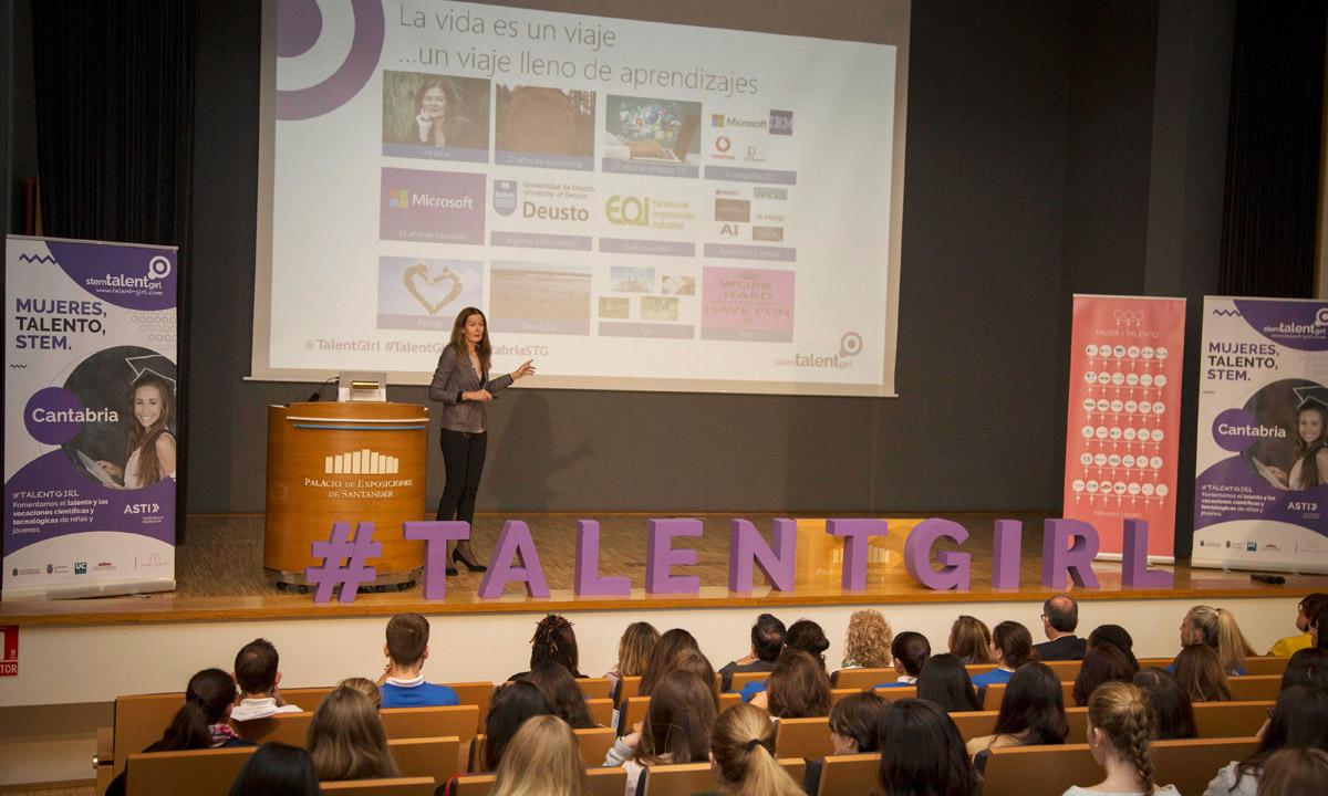 Mujer y talento, talent girl, cantabria, santander, palacio de exposiciones