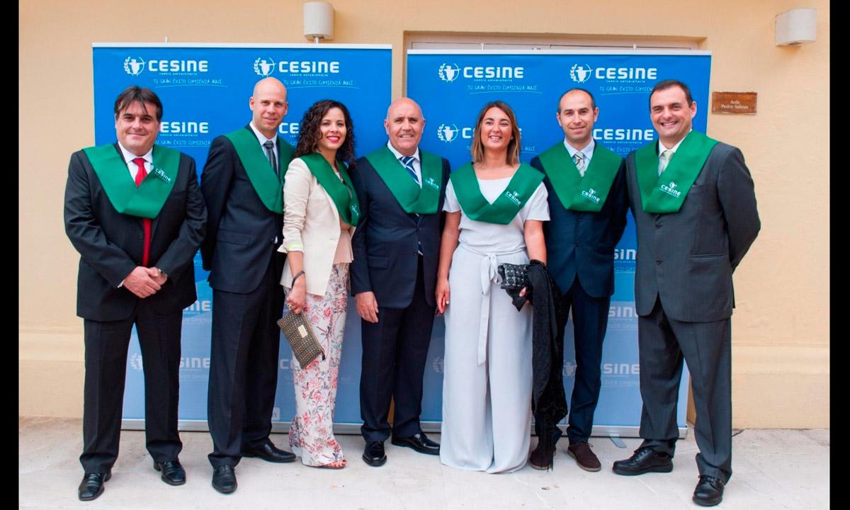 Tirso, Cesine, Roberto González Portilla consejero delegado padrino de promocion
